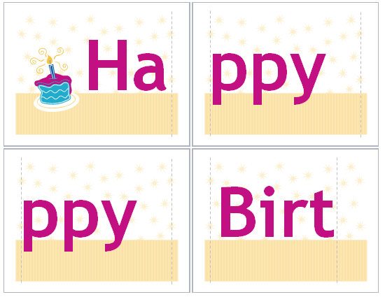 Happy birthday banner template maxwellsz