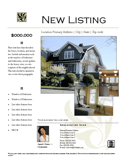 New Listing Flyer (prestige, Photo Collage)