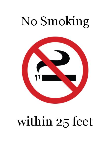 No Smoking Sign (color)