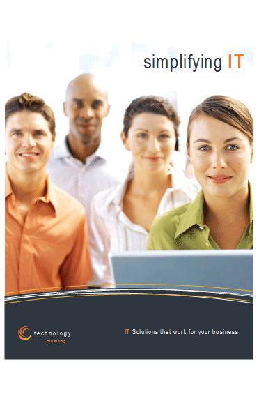 Technology Business Poster (11 X 17)