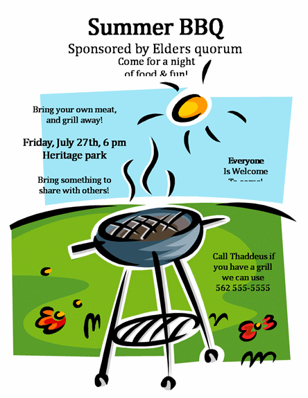 free bbq flyer template - bbq flyer templates free printable search results