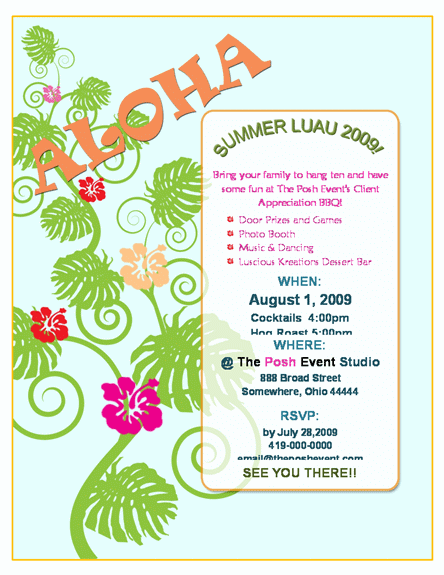 free event flyer templates word