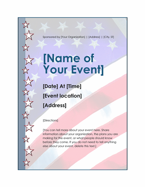 Independence Day Event Flyer