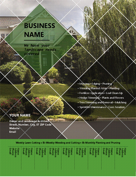 Promotional Flyer Design For Business