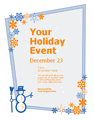 Holiday Event Flyer (with...
