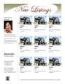 Multiple Listing Flyer (luxury, Agent Intro)
