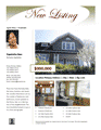 New Listing Flyer (luxury, Design 1, Mult. Photos)