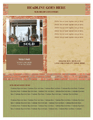 Flyer (realty Classic Design, Portrait)