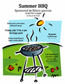 Summer Bbq Barbecue Flyer