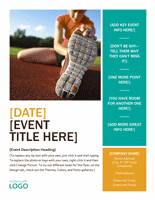 Seasonal Event Spring Flyer Design Ideas Template Word