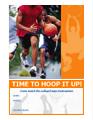 Basketball Party Invitation Flyer