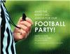 Football Party Flyer