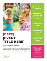 Seasonal Event Flyer Template Word Design